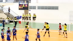 Timelapse Sports Volleybal Stock Footage