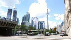 Toronto Bus Terminal Union Station Stock Footage
