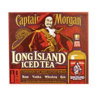 Captain Morgan Long Island Iced Tea Stock Photos