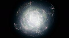 Very bright supernova Stock Footage