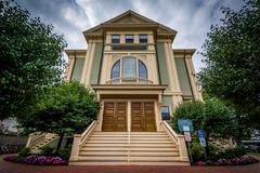 Provincetown Town Hall, in Provincetown, Cape Cod, Massachusetts. Kuvituskuvat