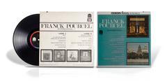 LP vinyl disc Franck Pourcel Es Internacional Kuvituskuvat