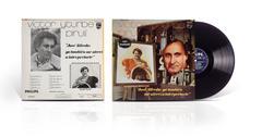 LP vinyl disc Victor Yturbe Piruli Stock Photos