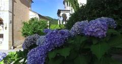 The Sacred Mountain of Varallo, Varallo Sesia, Piedmont, Italy. Stock Footage