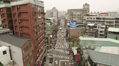 Taiwan,New Taipei,2nd section of Sanhe Road Stock Footage