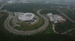 Taiwan,Hsinchu,Hsinchu Science-Based Industrial Park,Tongluo Park Stock Footage