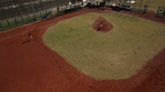 Taiwan,New Taipei,baseball field of ShuHong Ludi park Stock Footage