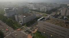 Taiwan,Hsinchu,Hsinchu Science-Based Industrial Park Stock Footage