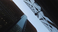 Imposing Glass Building Stock Footage