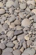 Smooth grey stone Stock Photos