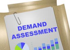 Demand Assessment concept Stock Illustration