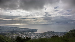 Time lapse Port Louis, Mauritius Stock Footage