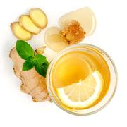 Proven Health Benefits of Ginger Can Treat Many Forms of Nausea. Stock Photos
