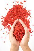 Goji Berry Benefits: Antioxidant & Anti-Inflammatory Superfruit Stock Photos