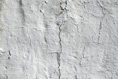 Crack in the concrete wall Stock Photos