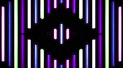 Vj Loops Handmade Neon HD Lines - stock footage
