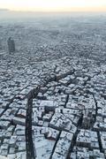 Irregular urbanization Stock Photos