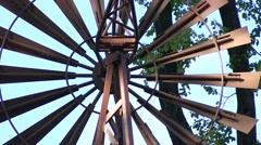 Windmill Closeup Stock Footage