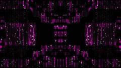 Disco Club Vj Loop Motion Buckground Purple Party - stock footage