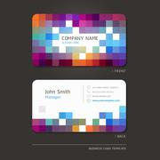 Business card abstract background. Vector illustration. Stock Illustration