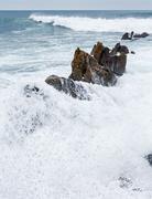 Ocean surf wave. Kuvituskuvat