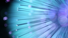 Fiber optics background with lots of light spots Stock Footage