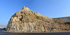 Rethymno Fortezza fortress - stock photo
