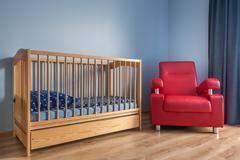Beautiful toddler room idea Stock Photos