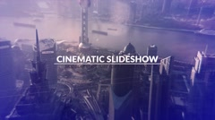 Cinematic Slideshow - stock after effects