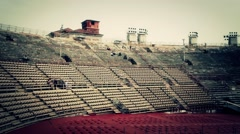 Verona inside Arena Stock Footage