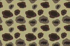 Army Camouflage Pattern Khaki Color. Vector Illustration Stock Illustration