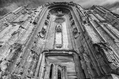 Old church and abbey ruins in the Loire Valley, France, Stock Photos