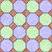 Floor tiles seamless generated hires texture Stock Illustration