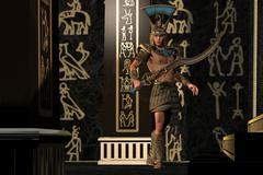 Egyptian Scorpion God Stock Illustration