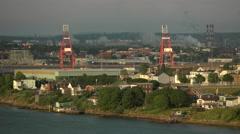 Saint John, New Brunswick. Canada. Stock Footage