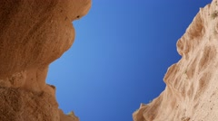 Red canyon in italy Stock Footage