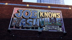 Famous Joe Knows Nashville in the music city of USA Arkistovideo