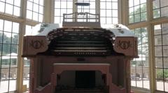 Grand Organ Casa Loma Windows Stock Footage