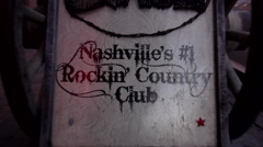Nashville Rocking Country Club Stock Footage