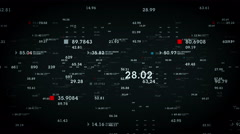 Data And Information Black Stock Footage