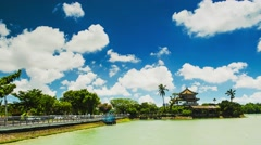 View of the city in Kaohsiung - Taiwan Stock Footage