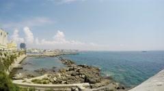 Gallipoli, Apulia, Salento, Time Lapse, 4k - stock footage
