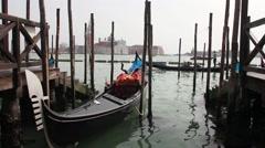 Gondola from Venice Stock Footage