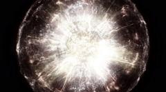 Very bright supernova - stock footage