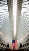 Oculus World Trade Center Transportation Hub in NYC Stock Photos