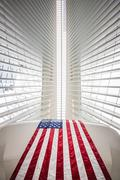 Oculus World Trade Center Transportation Hub in NYC Stock Photos