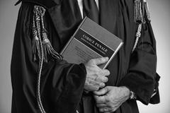 Italy, lawyer studio portrait Stock Photos