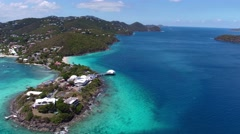 Video of Coki Point, St.Thomas, US Virgin Islands Stock Footage