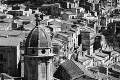 Italy, Sicily, Ragusa Ibla, view of the baroque town Kuvituskuvat