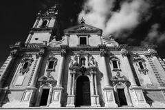Italy, Sicily, Ragusa, view of the baroque St. John Cathedral facade Kuvituskuvat